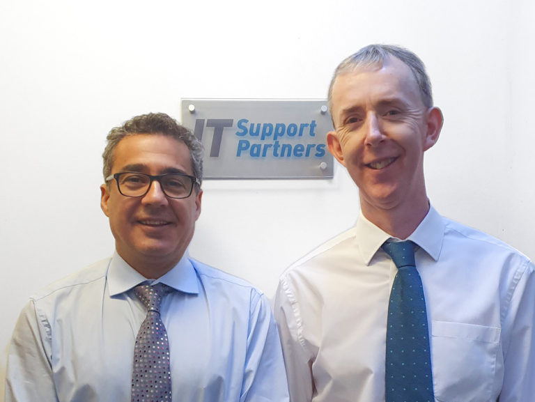 Eddie Rivero and Diarmuid Coyle, founders if IT Support Partners