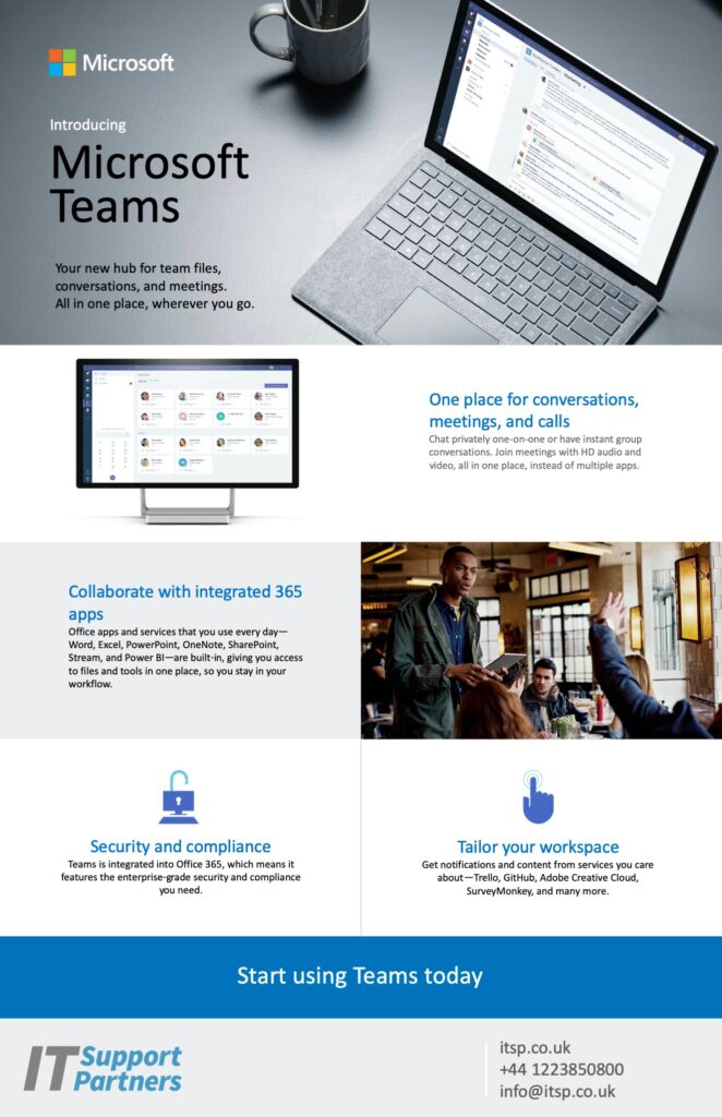 Microsoft Teams Flyer